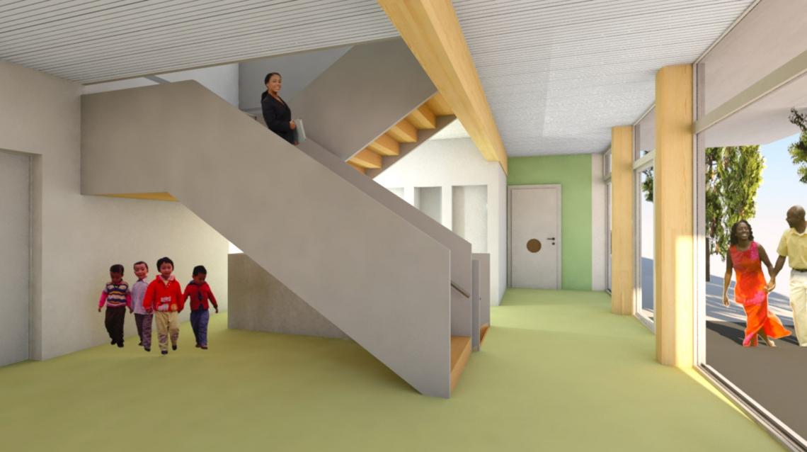 kiga-foyer